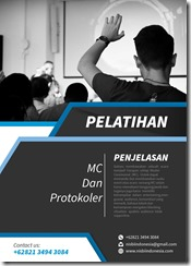 training pengenalan mc murah